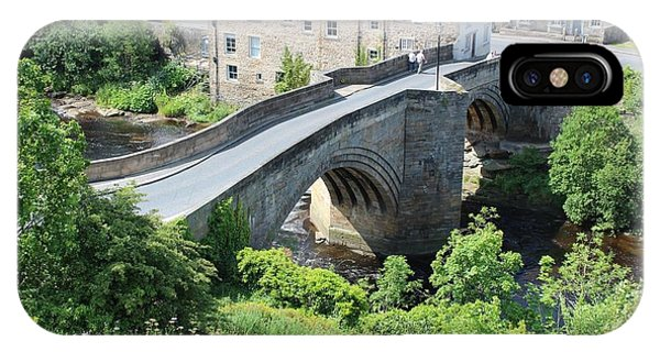 Roadbridge Over The River Tees IPhone Case