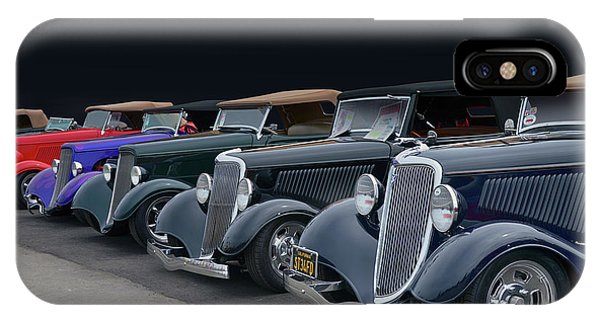 Roadster Row IPhone Case