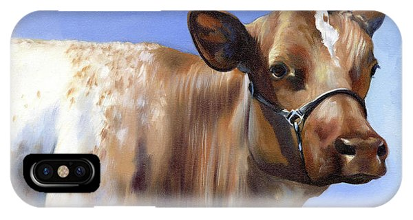 Roan Cow IPhone Case