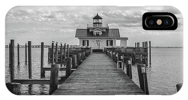 Roanoke Marshes Light IPhone Case