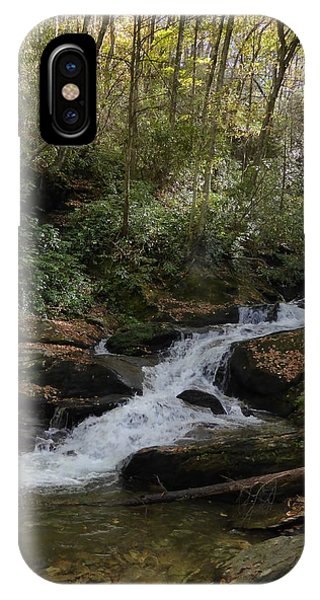 Roaring Fork Falls - October 2015 IPhone Case