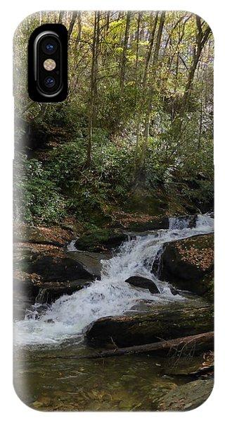 Roaring Fork Falls - October 2015 IPhone Case