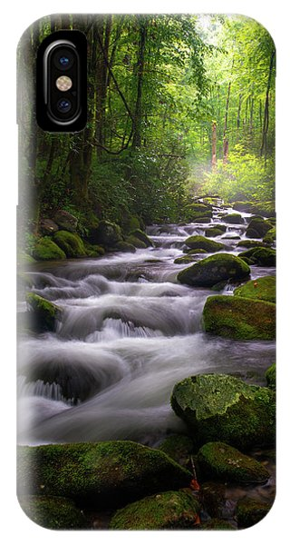 Great Smoky Mountains Roaring Fork Gatlinburg Tennessee IPhone Case