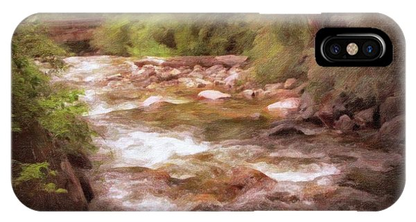 Roaring Fork River IPhone Case
