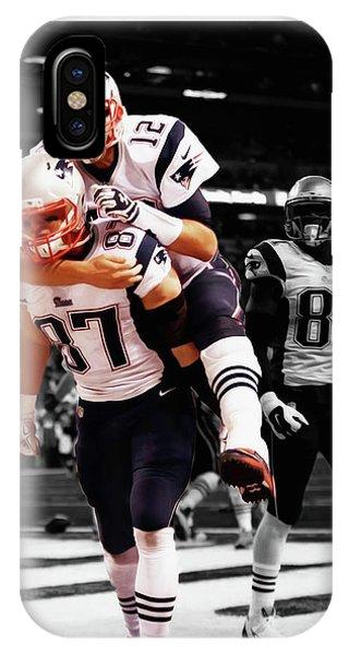 Rob Gronkowski And Tom Brady IPhone Case