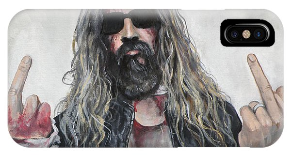 Rob Zombie IPhone Case