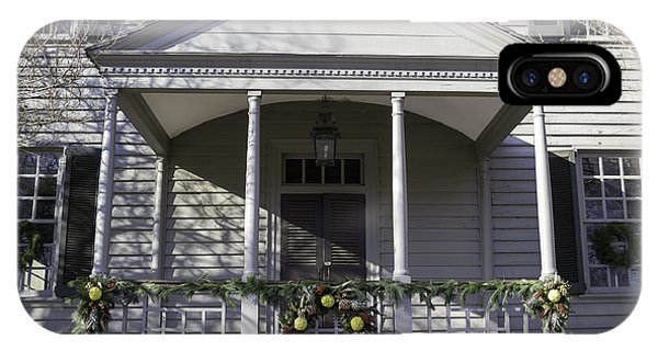 Robert Carter House Porch 01 IPhone Case