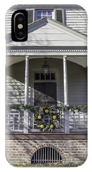 Robert Carter House Porch 02 IPhone Case