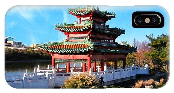 Robert D. Ray Asian Garden IPhone Case