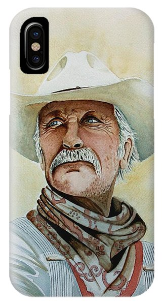 Robert Duvall As Augustus Mccrae In Lonesome Dove IPhone Case