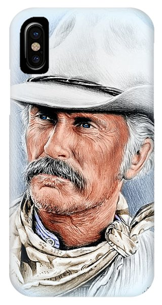 Robert Duvall As Gus Mccrae IPhone Case