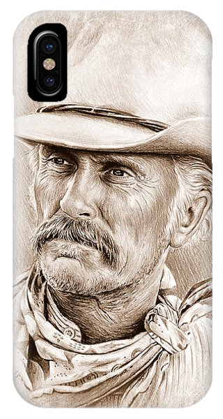 Robert Duvall  The Western Collection IPhone Case