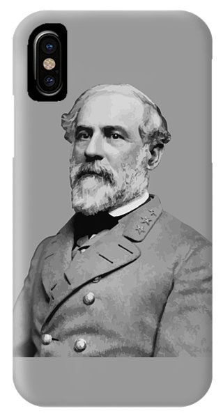 Patriot iPhone Case - Robert E Lee - Confederate General by War Is Hell Store