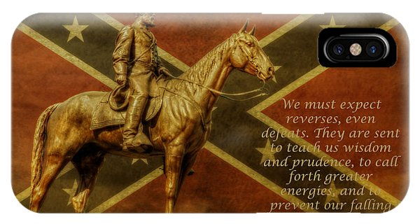 Robert E Lee Inspirational Quote IPhone Case