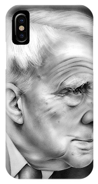 Frost iPhone Case - Robert Frost by Greg Joens