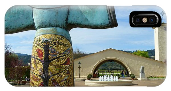 Robert Mondavi Winery And St. Francis IPhone Case