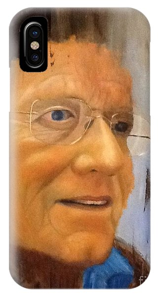 Robert Monk Self Portrait IPhone Case