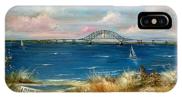 Robert Moses Bridge IPhone Case
