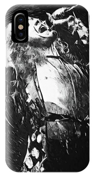 Rock And Roll Jimmy Page iPhone Case - Robert Plant by Zapista Zapista