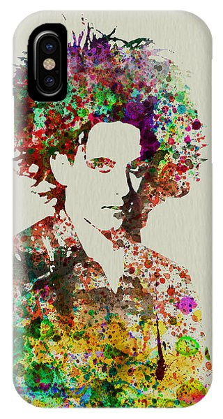 Robert Smith Music iPhone Case - Robert Smith Cure 2 by Naxart Studio