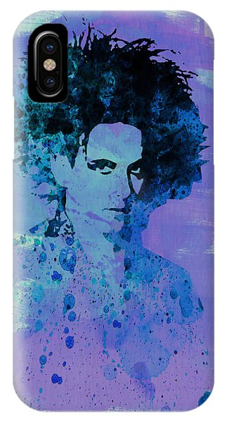 Robert Smith Music iPhone Case - Robert Smith Cure by Naxart Studio