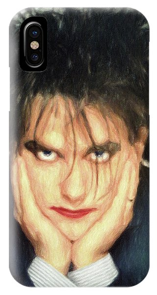 Robert Smith Music iPhone Case - Robert Smith by Zapista