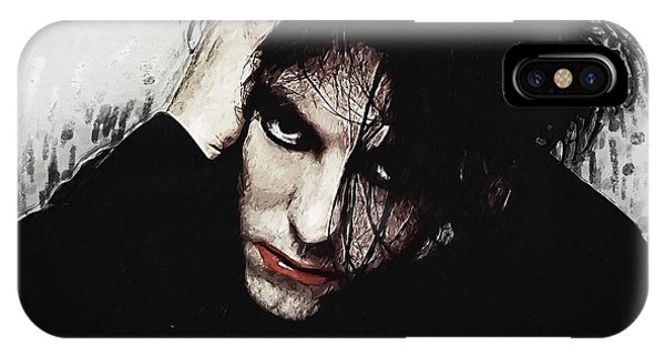 Robert Smith Music iPhone Case - Robert Smith - The Cure  by Zapista