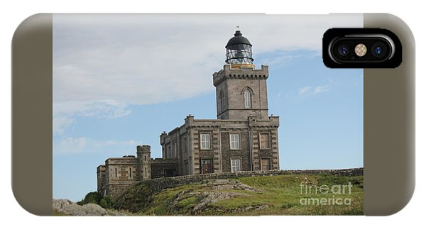 Robert Stevenson Lighthouse IPhone Case