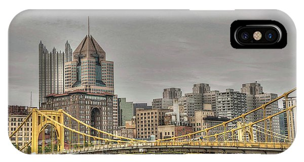 Baseball Hall Of Fame iPhone Case - Roberto Clement Bridge by David Bearden