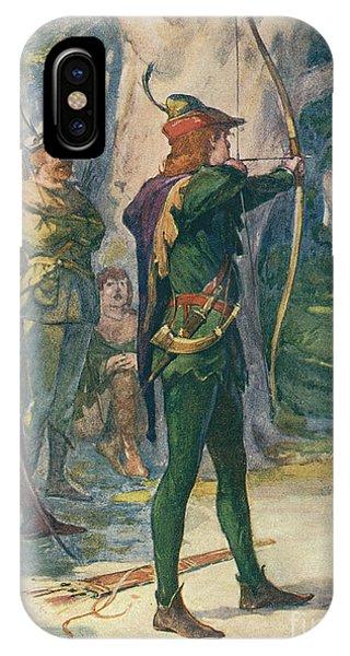 Scarlet iPhone Case - Robin Hood by Robert Hope