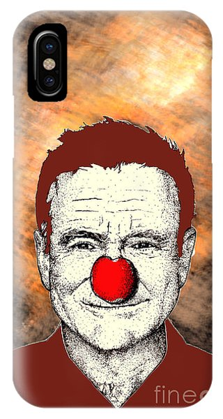 Robin Williams 2 IPhone Case