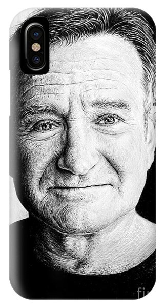 Robin Williams Comedian iPhone Case - Robin Williams by Andrew Read