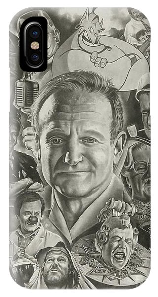 Robin Williams Comedian iPhone Case - Robin Williams by James Rodgers