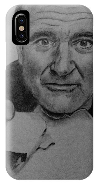 Robin Williams Comedian iPhone Case - Robin Williams by Kate R
