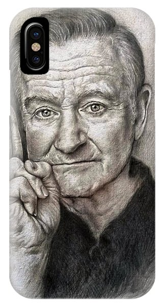 Robin Williams Comedian iPhone Case - Robin Williams by Tim Thorpe