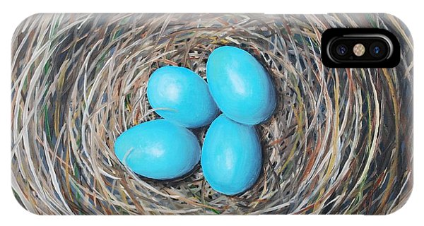 Robin's Eggs IPhone Case