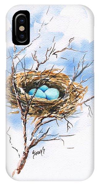 Robin's Nest IPhone Case