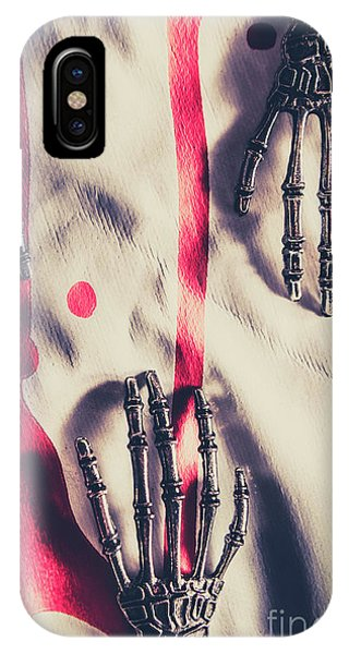 Hand iPhone Case - Robot Killing Machines by Jorgo Photography - Wall Art Gallery