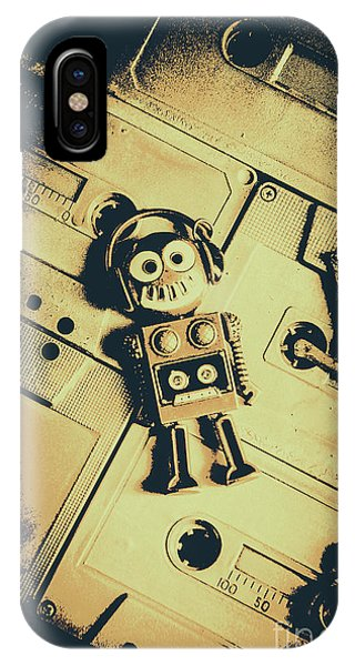 Robot iPhone Case - Robotic Trance by Jorgo Photography - Wall Art Gallery