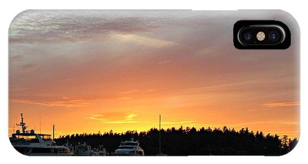 Roche Harbor Sunset IPhone Case