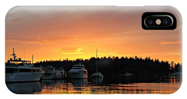 Roche Harbor Sunset IPhone Case