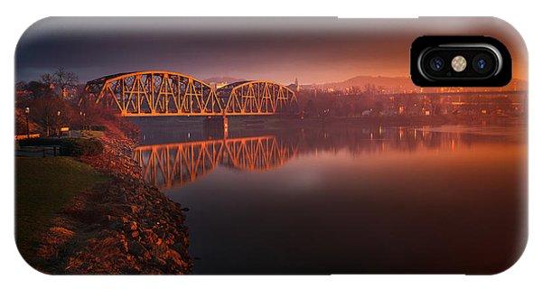 Rochester Train Bridge  IPhone Case
