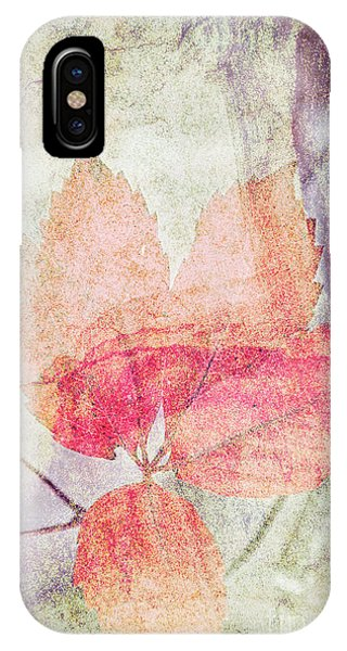 IPhone Case featuring the photograph Rock And Leaf Composite 2 by Elaine Teague