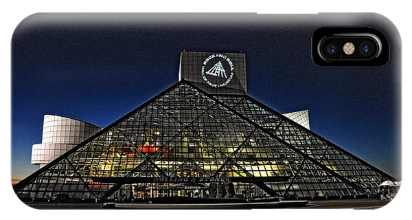 Rock And Roll Hall Of Fame - Cleveland Ohio - 5 IPhone Case