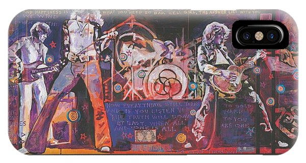 Rock And Roll Jimmy Page iPhone Case - Rock And Roll by Ray Stephenson