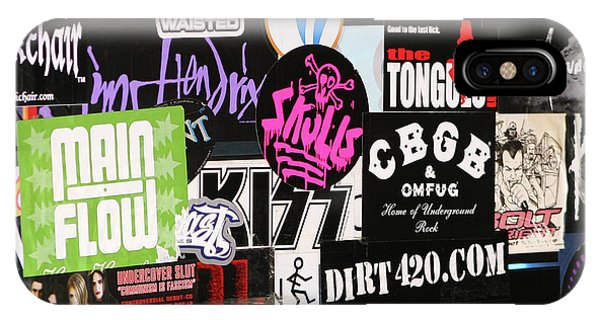 Rock And Roll Stickers IPhone Case