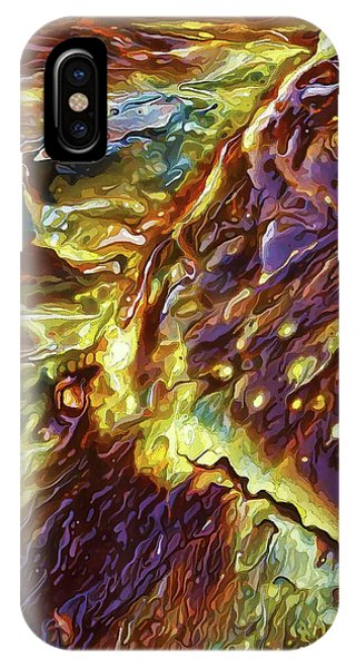 Rock Art 28 IPhone Case