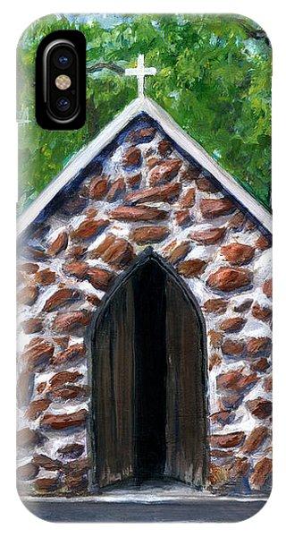 Rock Chapel Desoto Parish, Louisiana IPhone Case