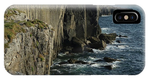 Rock Climbing Burren IPhone Case