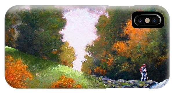 iPhone Case - Rock Creek by Jim Gola